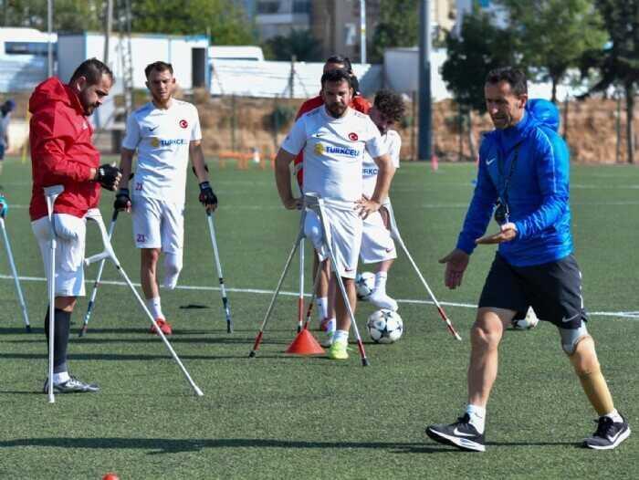Photo of Ampute Futbol Milli Takımımız, Antalya'da kampa girdi