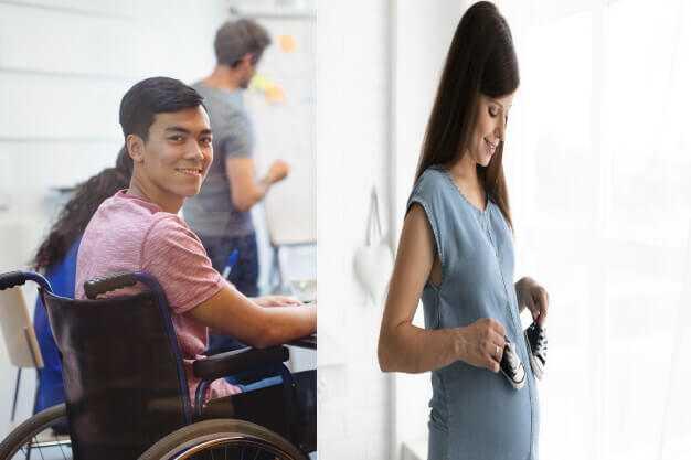 Engelli ve Hamilelere İzin
