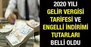 Photo of Engelli Vergi İndirimi Ne Kadar 2020