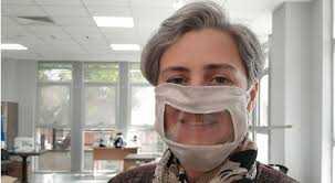 işitme engelliler için özel maske