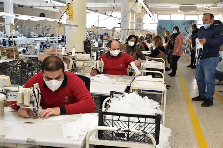 kocaeli maske üretim