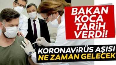 Photo of Korona aşısı ne zaman uygulanacak?